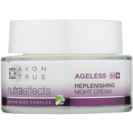 Avon True Nutra Effects fiatalító éjszakai krém a bőr regenerációjára  50 ml