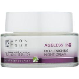 Avon True NutraEffects crema notte ringiovanente per la rigenerazione della pelle  50 ml