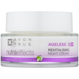 Avon True NutraEffects creme de noite renovador  50 ml