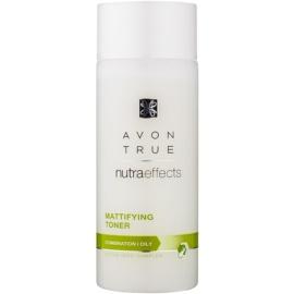 Avon True NutraEffects matující pleťová voda pro mastnou a smíšenou pleť  200 ml