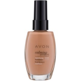 Avon True Colour nyugtató make-up matt hatásért árnyalat Warmest Beige 30 ml