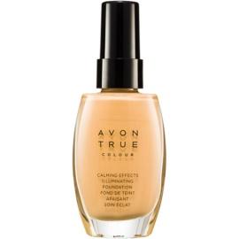 Avon True Colour zklidňující makeup pro rozjasnění pleti odstín Cream 30 ml