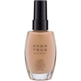 Avon True Colour nyugtató make-up matt hatásért árnyalat Cream 30 ml