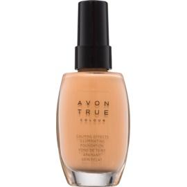 Avon True Colour fondotinta lenitivo illuminante colore Almond 30 ml