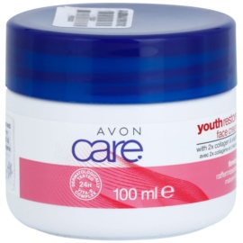 Avon Youth Restore crème visage raffermissante au collagène  100 ml
