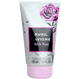 Avril Lavigne Wild Rose leite corporal para mulheres 150 ml