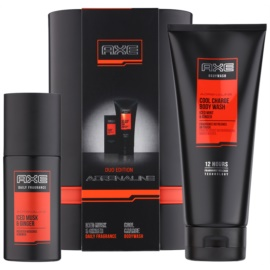 Axe Adrenaline Charge Up Protection dárková sada I.  tělový sprej 100 ml + sprchový gel 200 ml