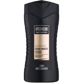 Axe Signature Cedar Smooth Douchegel voor Mannen 250 ml