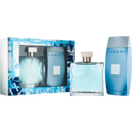 Azzaro Chrome Gift Set II.  Eau De Toilette 100 ml + Shower Gel 200 ml