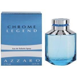 Azzaro Chrome Legend Eau de Toilette für Herren 75 ml