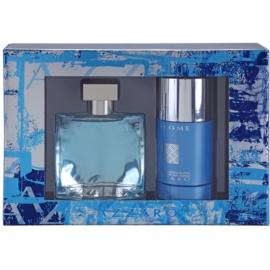 Azzaro Chrome Geschenkset I. Eau de Toilette 50 ml + Deo-Stick 75 ml