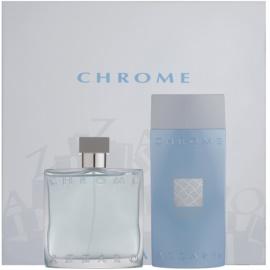 Azzaro Chrome ajándékszett II.  Eau de Toilette 100 ml + tusfürdő gél 200 ml