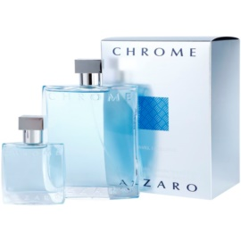 Azzaro Chrome Geschenkset XIV. Eau de Toilette 200 ml + Eau de Toilette 30 ml