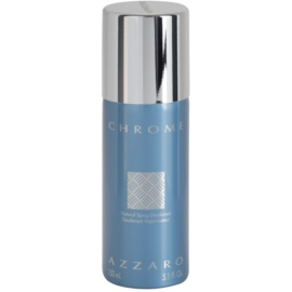 Azzaro Chrome Deo-Spray für Herren 150 ml