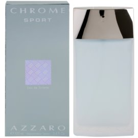 Azzaro Chrome Sport woda toaletowa dla mężczyzn 100 ml