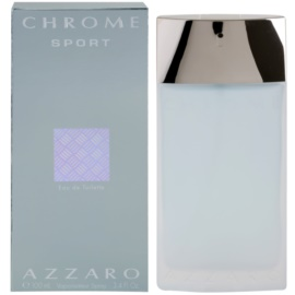 Azzaro Chrome Sport Eau de Toilette para homens 100 ml
