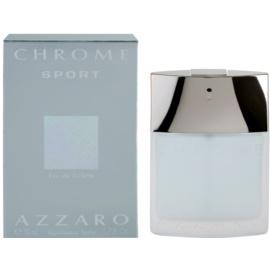 Azzaro Chrome Sport Eau de Toilette para homens 50 ml