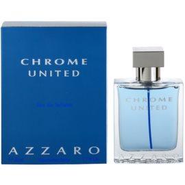 Azzaro Chrome United Eau de Toilette para homens 50 ml