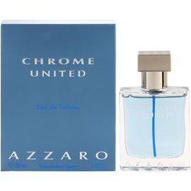 Azzaro Chrome United Eau de Toilette para homens 30 ml