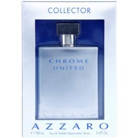 Azzaro Chrome United Collector Edition Eau de Toilette für Herren 100 ml