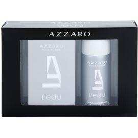 Azzaro Azzaro Pour Homme L´Eau set cadou I. Apa de Toaleta 100 ml + Deo-Spray 150 ml