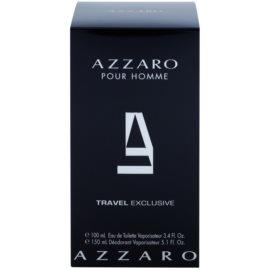 Azzaro Azzaro Pour Homme Geschenkset VIII. Eau de Toilette 100 ml + Deo-Spray 150 ml