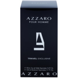 Azzaro Azzaro Pour Homme подарунковий набір VІІІ  Туалетна вода 100 ml + Дезодорант 150 ml