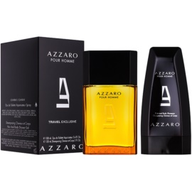Azzaro Azzaro Pour Homme подарунковий набір ХVІ  Туалетна вода 100 ml + Гель для душу 150 ml