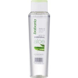 Babaria Aloe Vera hidratáló testápoló olaj Aloe Vera tartalommal  400 ml