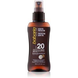 Babaria Sun Protective Öl-Spray für Bräunung SPF 20  100 ml