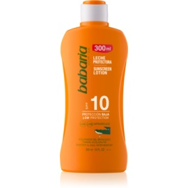 Babaria Sun Protective lait solaire waterproof SPF 10  300 ml