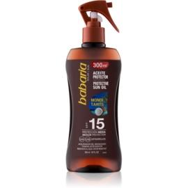 Babaria Sun Protective Sun Oil In Spray SPF 15  300 ml