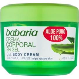 Babaria Aloe Vera Hydraterende Gel voor het Lichaam   400 ml