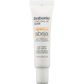 Babaria Abeja creme de olhos antirrugas com veneno de abelha   15 ml