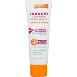 Babaria Sun Face Face Sun Fluid SPF 50+  50 + 25 ml
