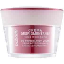 Babaria Rosa Mosqueta crème dépigmentante  50 ml
