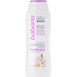 Babaria Almendras Shower Gel  600 ml