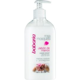 Babaria Rosa Mosqueta flüssige Seife für die Hände  500 ml