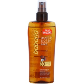 Babaria Sun Aceite Solar олійка для засмаги SPF 30  200 мл
