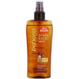 Babaria Sun Aceite Solar huile solaire SPF 30  200 ml