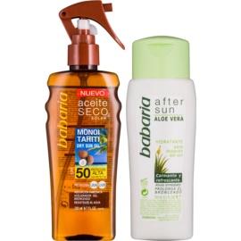 Babaria Sun Aceite Solar Cosmetic Set II.