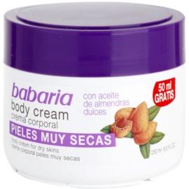 Babaria Almendras crema corporal con aceite de almendras  250 ml