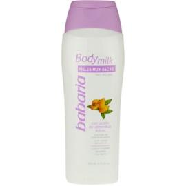 Babaria Almendras testápoló tej száraz bőrre  500 ml