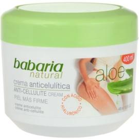 Babaria Aloe Vera крем для тіла проти розтяжок та целюліту  400 мл