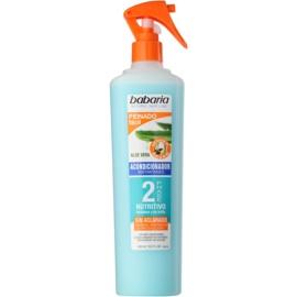 Babaria Aloe Vera condicionador bifásico em spray  400 ml