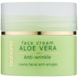 Babaria Aloe Vera creme facial com aloé vera  50 ml