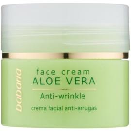 Babaria Aloe Vera crème visage à l'aloe vera  50 ml