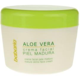Babaria Aloe Vera krema za obraz za zrelo kožo  125 ml