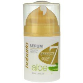 Babaria Aloe Vera sérum visage à l'aloe vera  50 ml