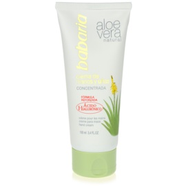 Babaria Aloe Vera kézkrém Aloe Vera tartalommal  100 ml